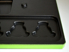 Magnetic Gear Organization Tray (ABS/Green Paint)