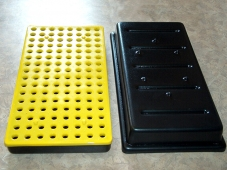 Spark Plug Insulated Shipping Tray (ABS/CAB)